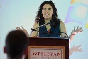 "And history major Sophia Hussain discussed ""The Derailed Power Broker: Rexford Tugwell's American Crusade for Planning and Professional Authority,"""