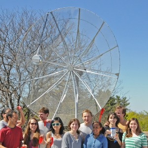 The new telescope will be an essential tool in Wesleyan's astronomy courses.