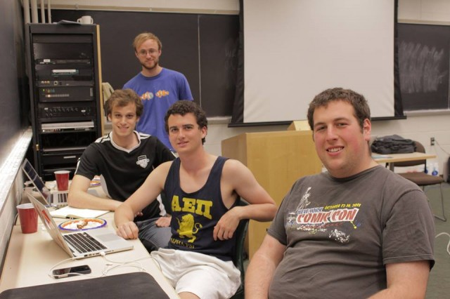 """Wes Music Map"" was designed by Julian Applebaum '13, Matt Adelman '13, Aaron Rosen '15 and Aaron Plave '15."