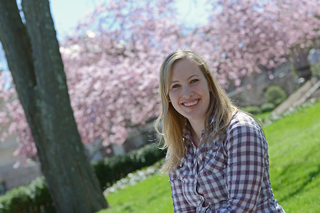 After graduating in May, Hannah Lewis '13 will head to Panama where she has a job lined up as an associate project director with Amigos de las Americas. &quot;Many students here,&quot; she said, &quot;want toand willchange the world for the better.&quot;