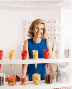 Candace Nelson '96 now offers ice cream.