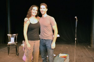 Leila Buck '99 and Adam Abel '98