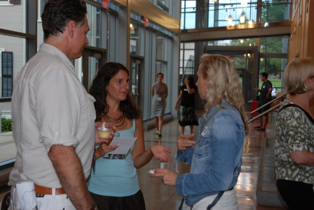Gradaute Liberal Studies Networking Receptiion Aug. 8, 2013.