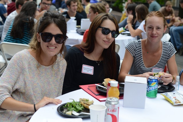 Wesleyan welcomed 183 graduate students to campus on Aug. 28.