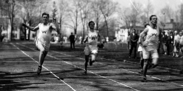 Track and field in 1926.