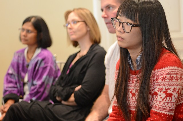 Wesleyan's Molecular Biophysics Program held its 14th annual Molecular Biophysics and Biological Chemistry Retreat at Wadsworth Mansion on Sept. 25.