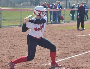 Matti Peters '13 had the highest GPA on the women's softball team in the 2012-13. The softball team finished third nationally in Division III with a cumulative 3.647 team GPA.