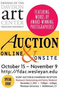 The Friends of the Davison Art Center is hosting an online auction Oct. 15-Nov. 9. An onsite auction will be held on Nov. 2.