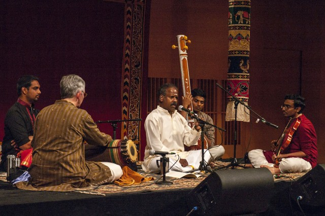 "On Oct. 11, vocalist B. Balasubrahmaniyan, adjunct assistant professor of music, performed ""Vocal Music of South India"" as part of the festival."