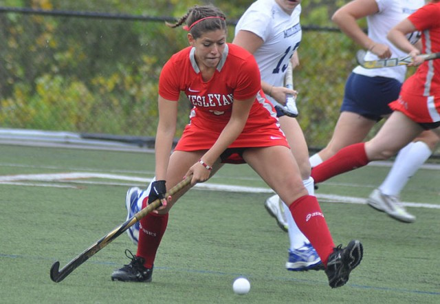 Averill Roberto '13 had one of the top GPAs on the women's field hockey squad.