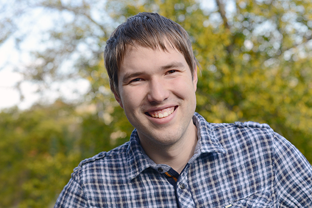 Edgar Pliaskis '14 is double majoring in economics and Italian.