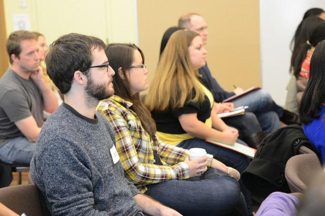 Graduate Student Services hosted a Graduate Career Symposium Oct. 22 in Usdan.