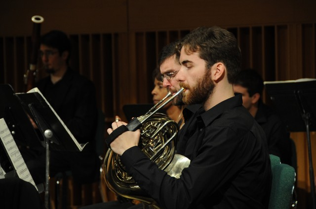 The Wesleyan University Orchestra has been an integral part of the University's Music Department for many years. The completion  of the Center for the Arts in 1973 allowed the orchestra to begin a regular annual series of concerts