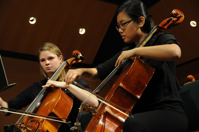 Under Potemkina, the Wesleyan Orchestra showcased a wide variety their symphonic repertoire.
