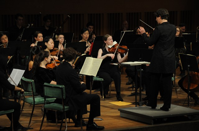 The orchestra was lead by conductor, Nadya Potemkina, who is the university's adjunct assistant professor of music and is currently nearing the completion of her doctoral degree in orchestral conducting from the University of Memphis.