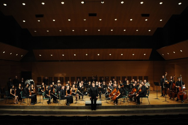 The Wesleyan Orchestra performed Nov. 16 in Crowell Concert Hall for their annual fall concert.