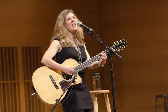 Williams '89 weaved her personal, social and political stories together for the concert. (Photos by John Van Vlack)