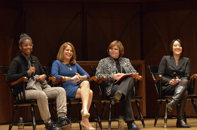 This symposium complemented a year-long programming initiative featuring women, their accomplishments, and their influence on the Wesleyan community and the world at large. The women responded to questions about their experiences as women of color at Wesleyan and afterward.