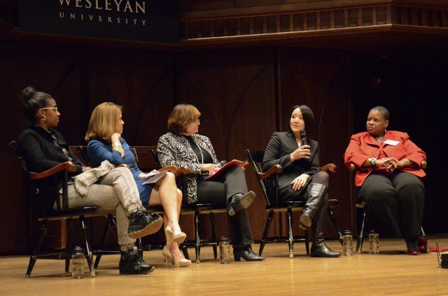 "Wesleyan hosted the 21st annual Dwight L. Greene Symposium on Nov. 2. The topic this year was ""Women of Color at Wesleyan."""