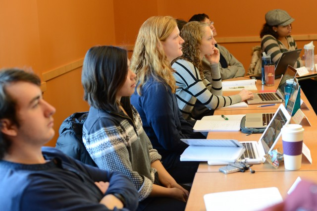 During the winter recess, Wesleyan's Career Center hosted Winter on Wyllys, a variety of career-related initiatives.