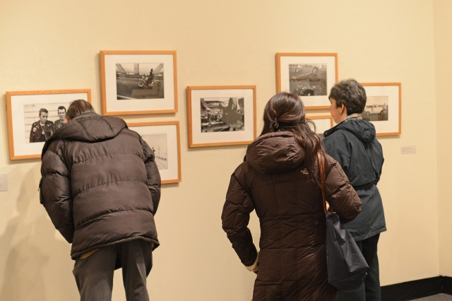 Also on display are William Henry Jackson's 19th century snapshots of the railroad as it was seen in the Old West, Jacques-Henri Lartigue's action shots of early French automobile races and abandoned Fords frozen in time by Robert Sheehan. Other works drawn from the gallery's permanent collection are by Danny Lyon, Walker Evans and Louis Faurer.