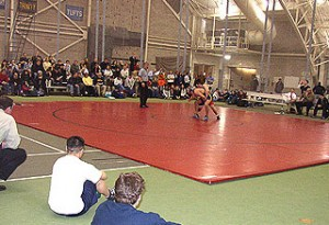 The wrestling tournament will be held in Bacon Field House March 1-2.