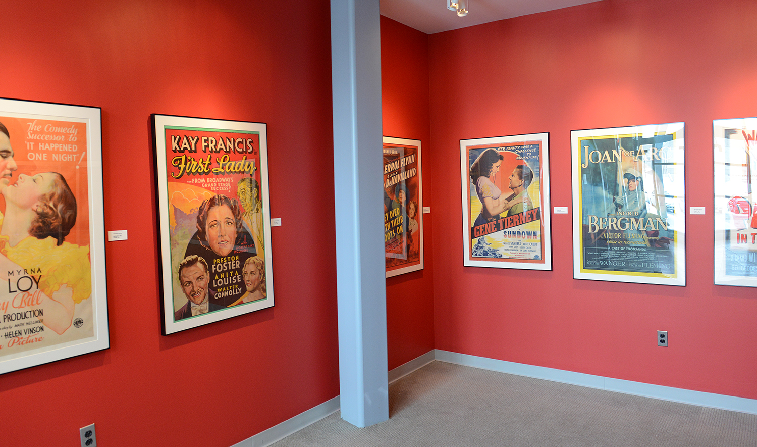 Wesleyans Cinema Archives Is Hosting The Exhibit Posters From Collection In Rick