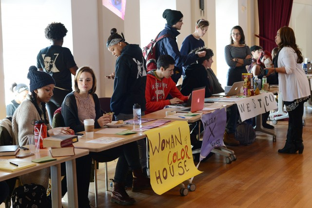The Office of Residential Life hosted a Program Housing Fair Feb. 7 in Beckham Hall. Program Housing is a unique living option offered to upperclassmen at Wesleyan that gives students the opportunity to live collectively in a house or hall, fraternity or society, based on shared hobbies, experiences, cultural interests and identities.