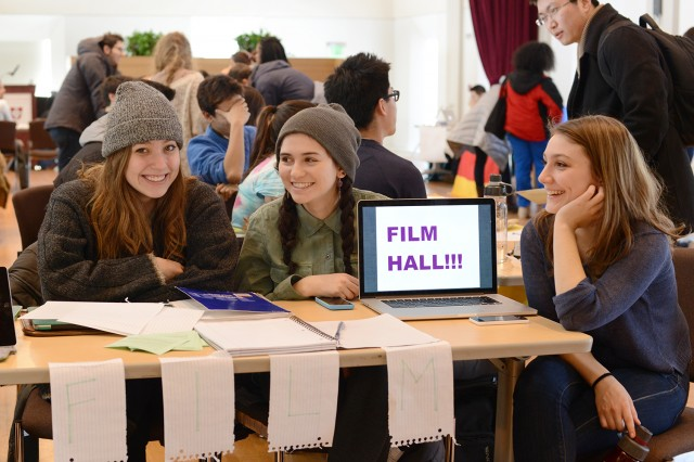 Film Hall, located on the 1st floor of Nicolson 6, is a creative environment for filmmakers and film lovers to live and work together, and use their shared knowledge and interest to further both their film and academic careers.