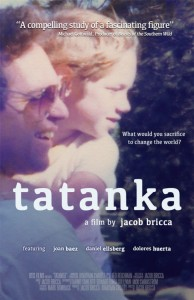 Film poster for Tatanka, directed by Jacob Bricca '93