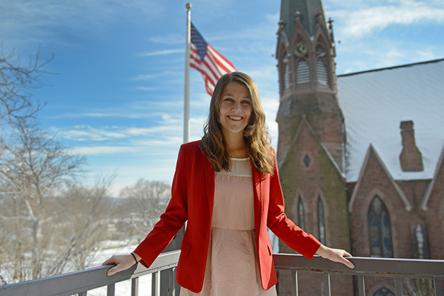 During an internship last summer, Shannon Welch '14 discovered that the State of Maryland never rescinded the 13th amendment.  Welch brought the oversight to the attention of the current Maryland State Legislature.