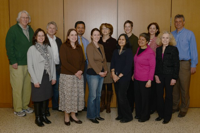 Pictured, from left, are College Readiness Summit participants James Donady, Anna Shusterman, Rob Rosenthal, Barbara Juhasz, Antonio Farias, Cathy Lechowicz, Beverly Hunter-Daniel, Ishita Mukerji, Jen Curran, Karen Anderson, Jan Naegele, Ruth Weissman and Manolis Kaparakis.