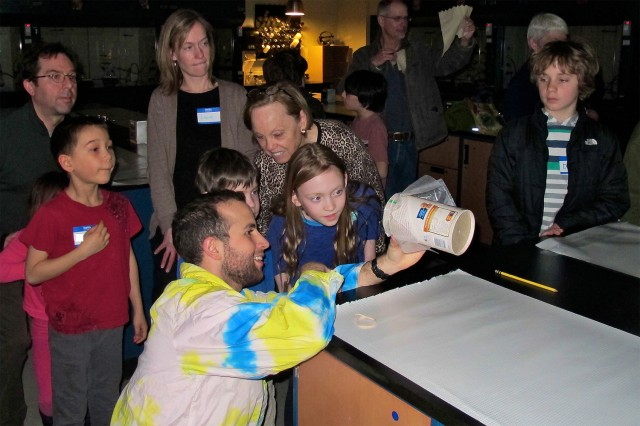 Science Saturday is an annual event. (Photos by Tessa Bellone)