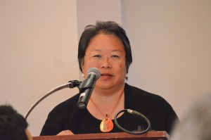 Daphne Kwok '84 was the keynote speaker.