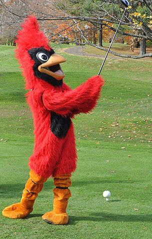 The second annual Cardinal Golf Outing to benefit Wesleyan women's athletics will be held May 12 at Lyman Orchards Golf Club.