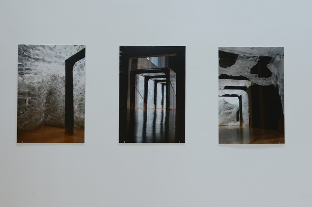 "Nathaniel Elmer, who completed his thesis, beat_space, in architecture, is displaying his images titled ""3 photographs."""