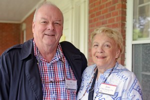 Bill Moody '59, P'91 and his wife, Janet Cline-Moody P'91 of Washington DC are on campus celebrating Bill's 55th reunion.