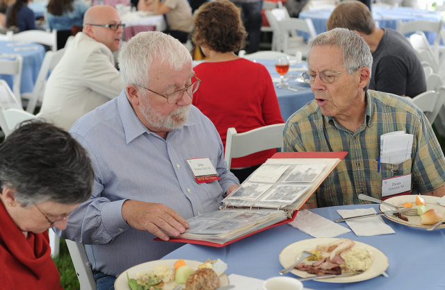 Reunite and reminisce with former classmates at Wesleyan's Reunion & Commencement Weekend.