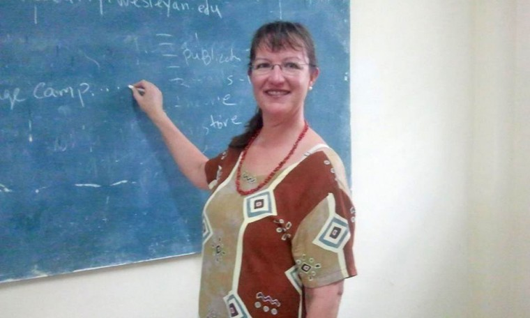 In June, Professor Elizabeth McAlister taught a seminar on prayer practices at the State University of Haiti. She previously spent almost four months in Haiti studying with Pentecostal prayer warriors and Haitian sorcerers.
