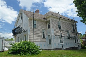 The Sign House, at 64 Lawn Avenue is under construction this summer.