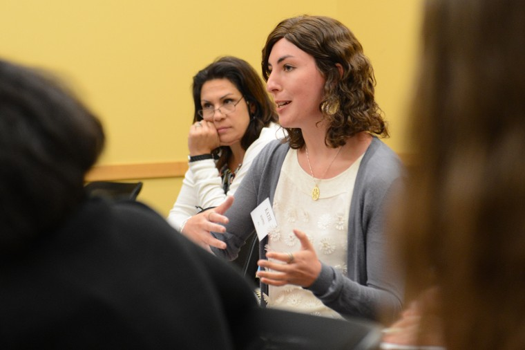 Writing Conference participants spoke about their own writing projects.