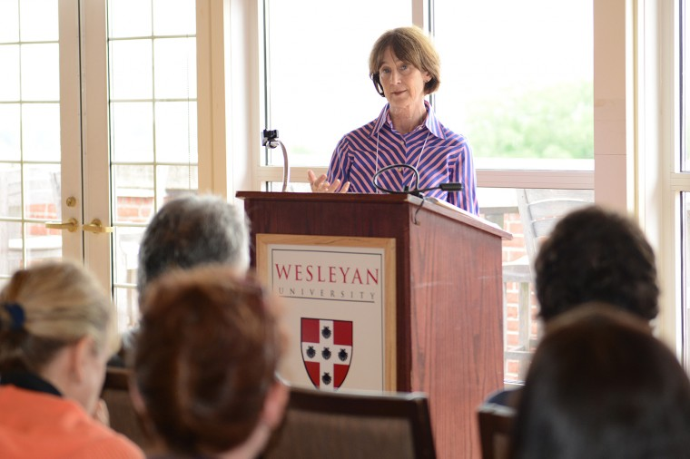 "Writing Conference Faculty Roxana Robinson taught ""Novel and Short Story Writing."""