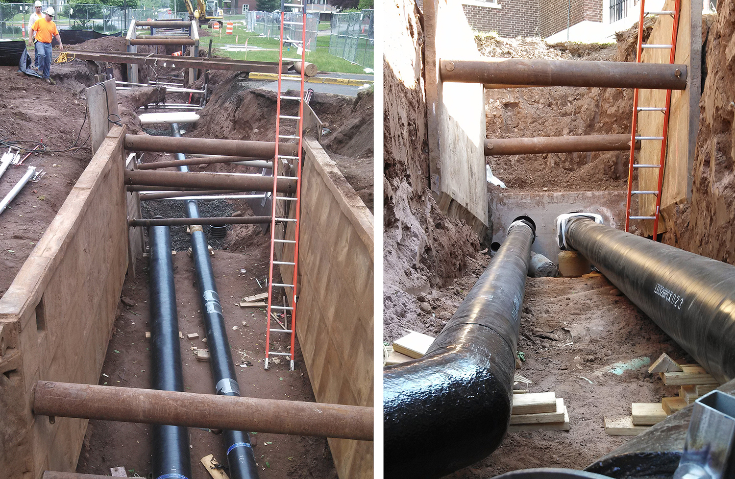 Pipeline systems in the construction of modern housing 56