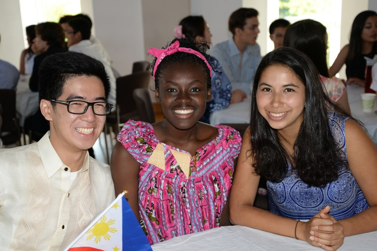 International Student Orientation, Aug. 26. (Photo by Olivia Drake)