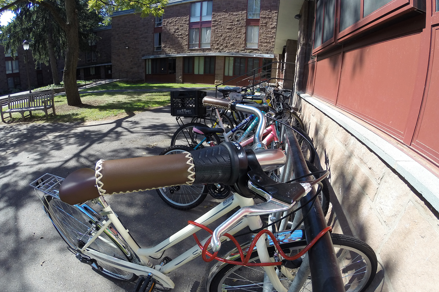 Bikes at the Butterfields.