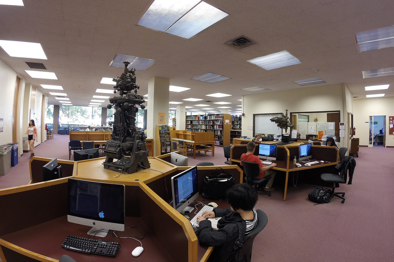 Inside the Science Library.