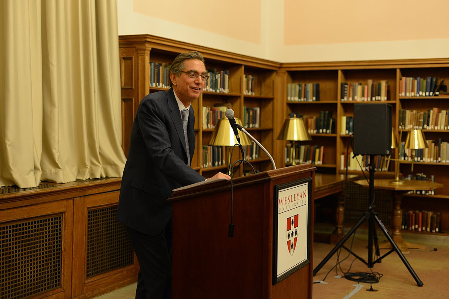 The annual lecture is hosted by the Friends of the Wesleyan Library.