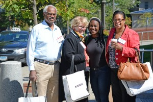 Family Weekend at Wesleyan University, Sept. 26, 2014. (Photo by Olivia Drake)