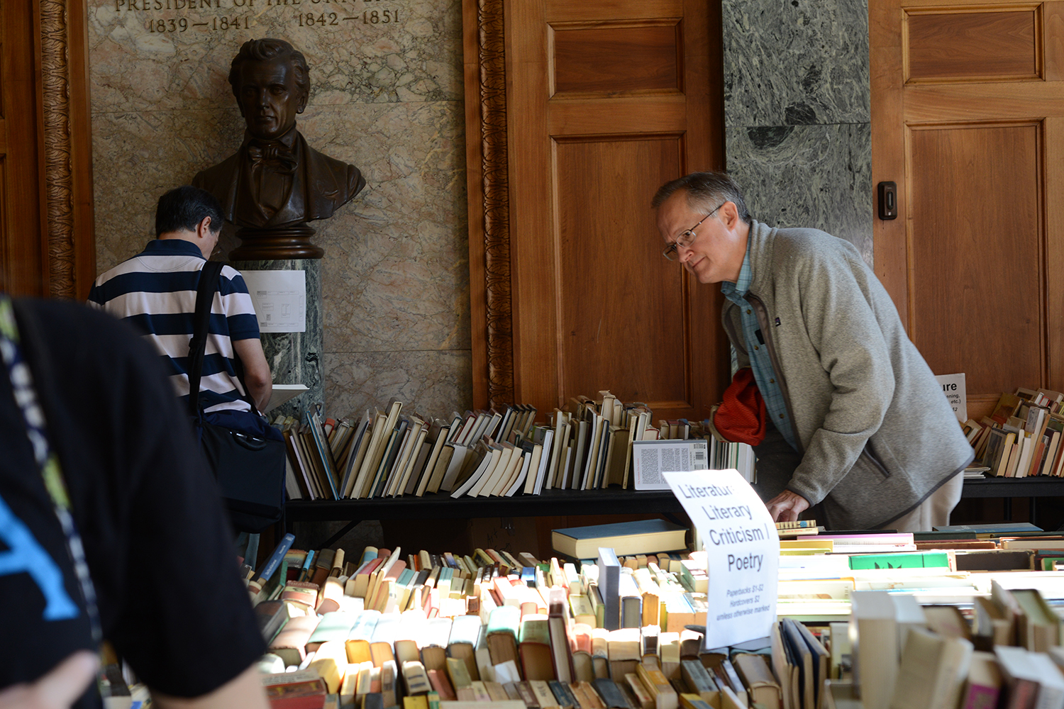 More than 3,000 books were for sale, most priced between $1-$5.