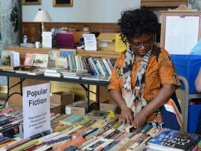 All proceeds from the annual sale benefit the Friends of the Wesleyan Library, a community of readers dedicated to celebrating and enjoying books of all kinds from vellum bound manuscripts to humble paperbacks to the latest digital innovation. The Friends raise funds to support the library's work and activities.